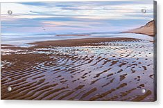 Cape Cod Low Tide Sunset Acrylic Print