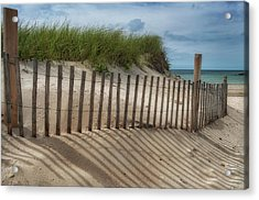 Acrylic Print featuring the photograph Cape Cod Sand Dunes by Expressive Landscapes Fine Art Photography by Thom