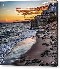 Acrylic Print featuring the photograph Cape Cod September by Kendall McKernon