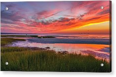 Cape Cod Skaket Beach Sunset Acrylic Print