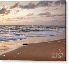 Acrylic Print featuring the photograph Cape Cod Sunrise 1 by Susan Cole Kelly