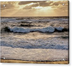 Acrylic Print featuring the photograph Cape Cod Sunrise 2 by Susan Cole Kelly