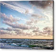 Cape Cod Sunrise 3 Acrylic Print by Susan Cole Kelly