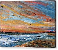 Cape Cod Sunrise Acrylic Print