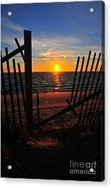Cape Cod Sunset Acrylic Print by Catherine Reusch Daley
