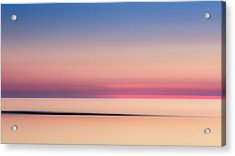 Cape Cod Sunset Colors Acrylic Print