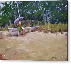 Cape Cod Weekend Acrylic Print by Laura Lee Zanghetti
