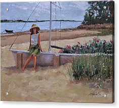 Cape Cod Weekend Two Acrylic Print by Laura Lee Zanghetti