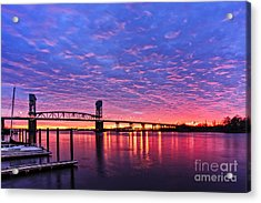 Cape Fear Bridge1 Acrylic Print