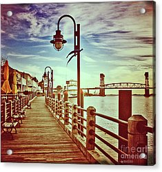 Cape Fear River Front Acrylic Print