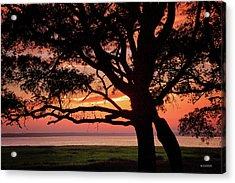 Cape Fear Sunset Overlook Acrylic Print