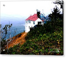 Cape Foulweather Acrylic Print by Methune Hively