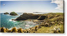 Cape Grim Cliff Panoramic Acrylic Print by Jorgo Photography - Wall Art Gallery