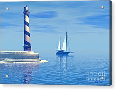 Cape Hatteras Acrylic Print by Corey Ford