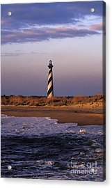 Cape Hatteras Lighthouse At Sunrise - Fs000606 Acrylic Print