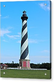 Cape Hatteras Lighthouse Lawn Acrylic Print