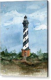 Cape Hatteras Lighthouse  Acrylic Print by Nancy Patterson