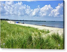 Acrylic Print featuring the photograph Cape Henlopen Delaware by Brendan Reals