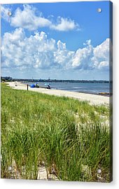 Acrylic Print featuring the photograph Cape Henlopen State Park by Brendan Reals