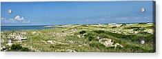 Acrylic Print featuring the photograph Cape Henlopen State Park - The Point - Delaware by Brendan Reals
