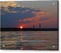 Cape Henry Sunset Acrylic Print
