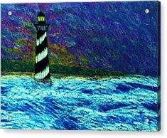 Cape Hetteras Light House Acrylic Print by Jeanette Stewart