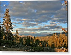 Cape Horn Sunset Looking East Acrylic Print
