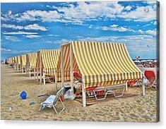 Cape May Cabanas 2 Acrylic Print