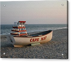 Cape May Calm Acrylic Print
