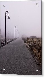 Cape May Fog Acrylic Print by Tom Singleton