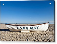 Cape May Acrylic Print by John Greim