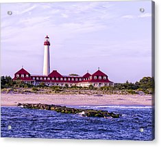 Acrylic Print featuring the photograph Cape May Light House by Linda Constant