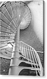 Cape May Lighthouse Stairs Acrylic Print