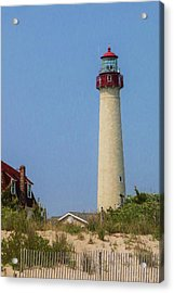 Cape May Lighthouse Vertical Acrylic Print
