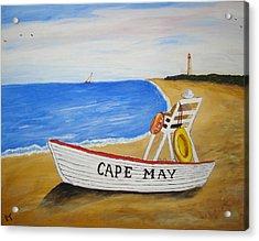 Cape May Acrylic Print by Rita Tortorelli