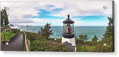 Acrylic Print featuring the photograph Cape Meares Bright by Darren White