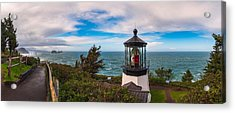 Cape Meares Lighthouse Acrylic Print by Darren White