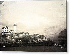 Cape Neddick Light House Acrylic Print by Sue OConnor