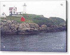 Cape Neddick Lighthouse Acrylic Print by Thomas R Fletcher