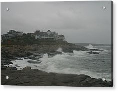 Cape Neddick Maine Acrylic Print by Imagery-at- Work