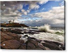Cape Neddick Maine Acrylic Print by Rick Berk