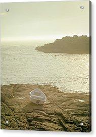 Cape Neddick Morning Acrylic Print by Joseph Smith
