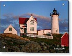 Cape Neddick Nubble Lighthouse 2634 Acrylic Print