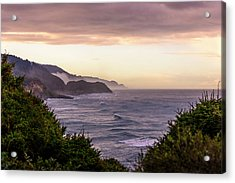 Cape Perpetua, Oregon Coast Acrylic Print