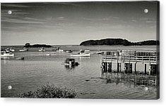 Cape Porpoise Harbor Acrylic Print
