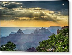 Cape Royal Crepuscular Rays Acrylic Print