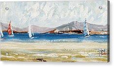 Cape Sailing Acrylic Print