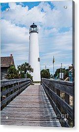 Cape St. George Lighthouse Acrylic Print