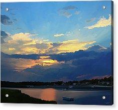 Cape Sunset  Acrylic Print