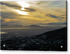 Cape Town Morning From Table Mountain Acrylic Print